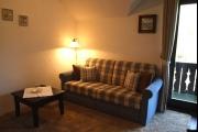 Vorschau Wohnzimme: Couch und Balkon