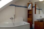 Vorschau Badezimmer mit Badewanne (Panorama-Bild)